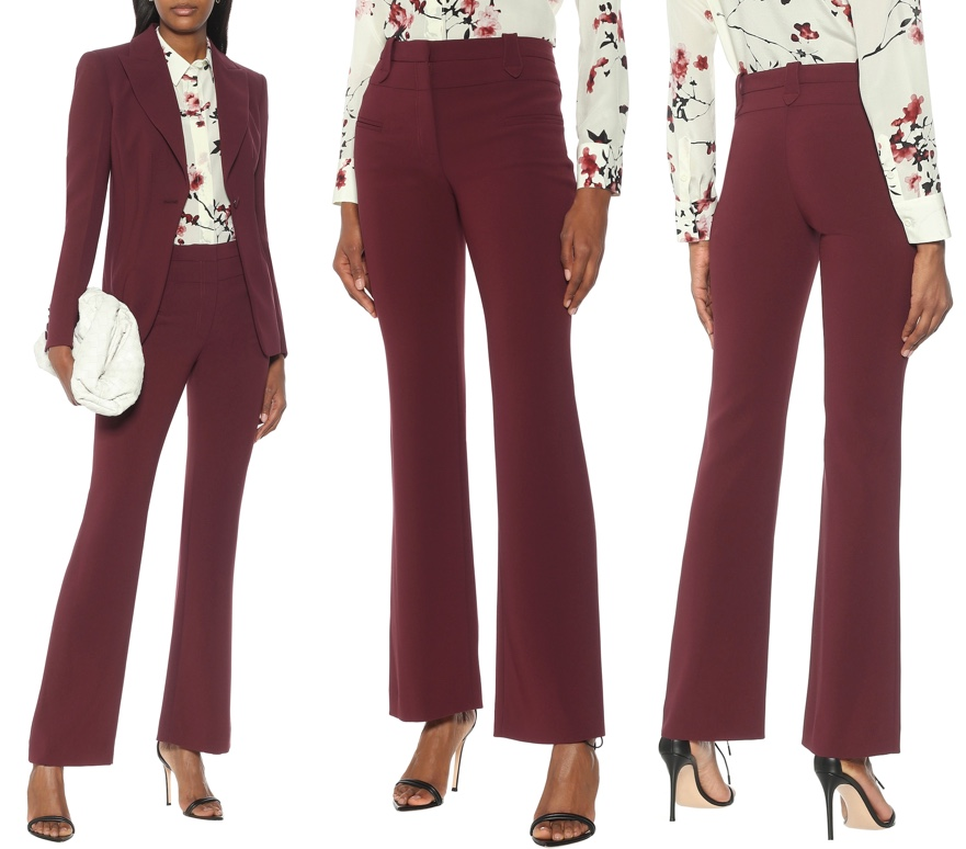 This image has an empty alt attribute; its file name is Altuzarra-Juniper-Berry-Trousers-Pants-Serge-Flared-Leg-Product-Shots.jpg
