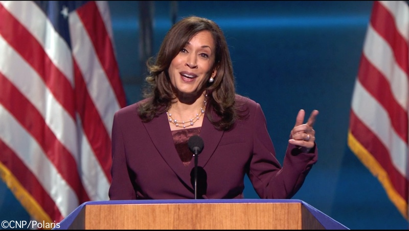 This image has an empty alt attribute; its file name is Kamala-at-Podium-Altazurra-Suit-Neuwirth-Necklace-Acceptance-Speech-Democratic-Convention-Aug-19-2020-CNP-Polaris-800-x-540.jpg